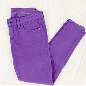 J. Crew Pants - J crew toothpick jeans